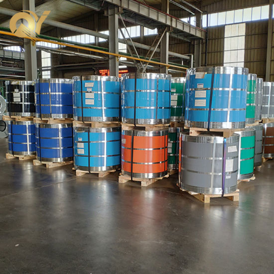Building Materials High Quality Color Coated PPGI Steel Coils