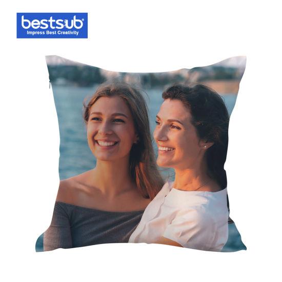 Bestsub Sublimation Pillow Cover Bedding Set (Satin, 35*35cm) (BZ3535)