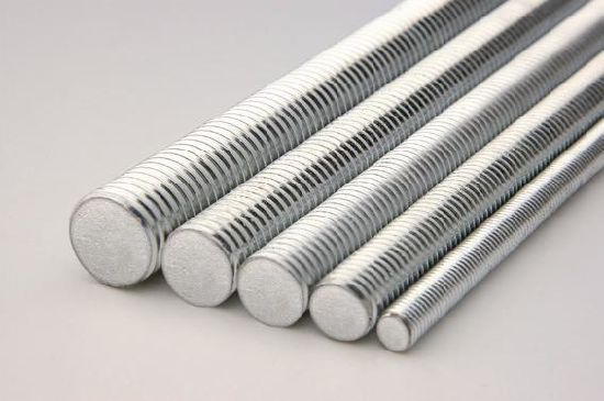 HDG Galvanized Steel Zinc Plated fastener Threaded Rod/Bar with Bolt and Nuts