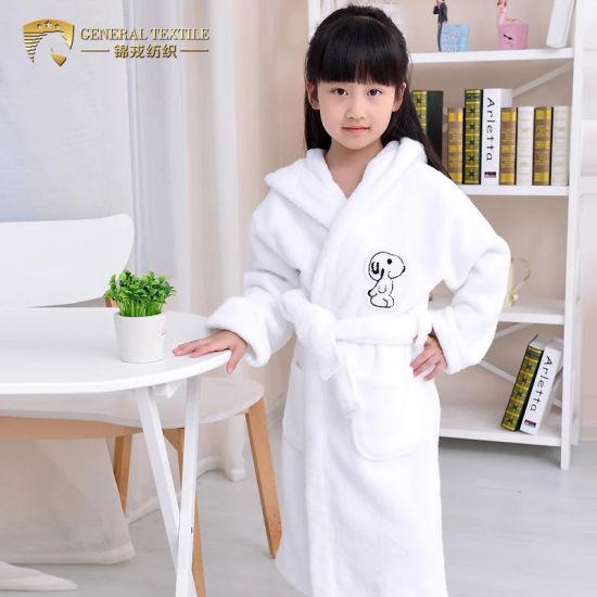 0a3cf45c78 Children′s Winter Cotton Terry Bathrobe Kids Bathrobe SPA Party Robe  (JRL051). Get Latest Price