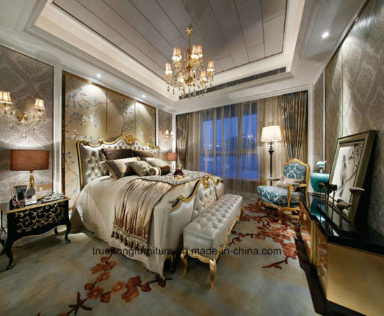 Italian Superior Bedroom Modern Hotel Furniture Wood Wooden King Bedroom Luxury Design Furniture