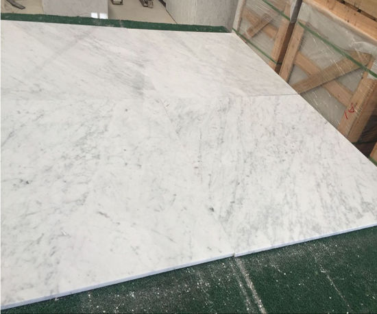 White Marble Slabs Cut to Size for Floor Marble Tiles pictures & photos