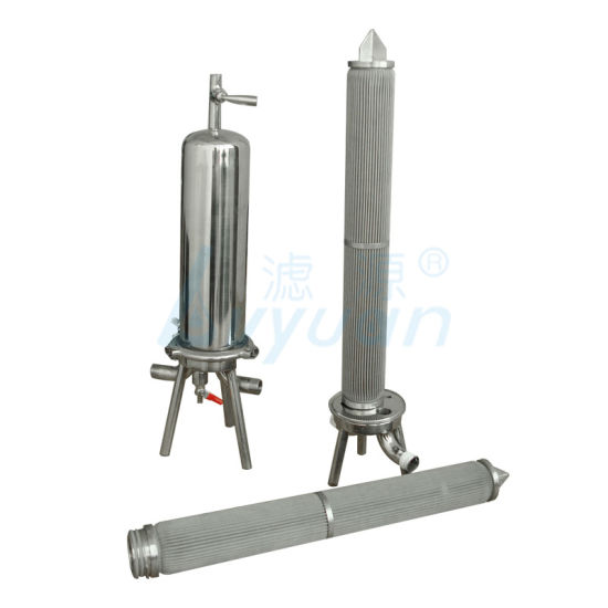 Stainless Steel Pleated Filter Cartridge for Oil Filtration