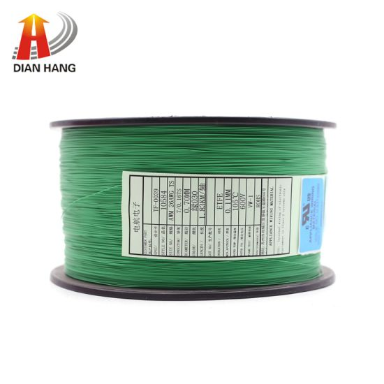 UL10584 High Temperature FEP Insulation Control Power Wire Electronic Copper Tinned Fit Custom Flexible PVC Round Stranded Wire