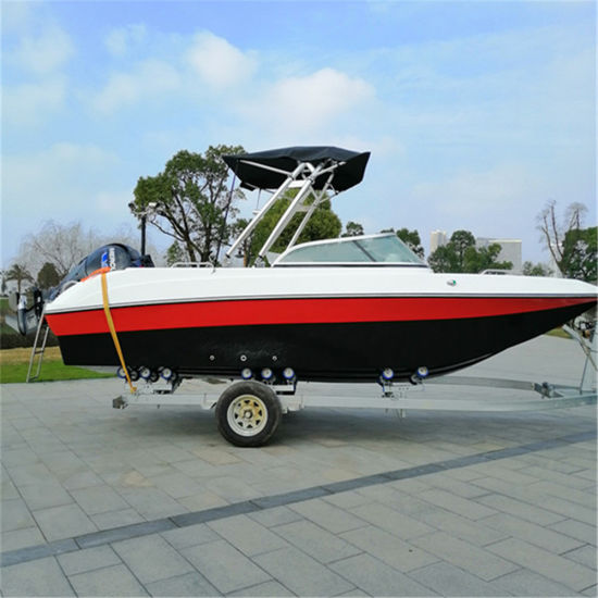 China 19FT Outboard Engine Pleasure Speed Boat Flit-580