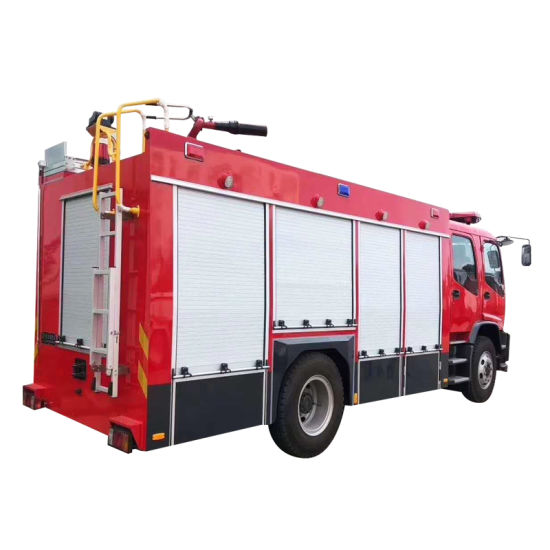 Aluminium Alloy Roll up Shutter Doors for Fire Truck