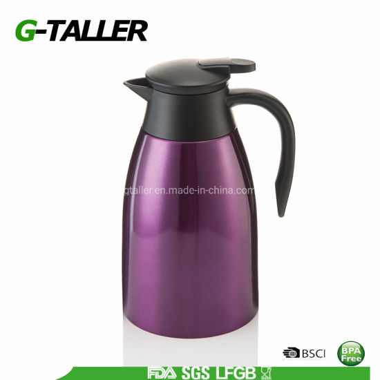 Household Type Stainless Steel Double Walled Insulated Vacuum Coffee Pot