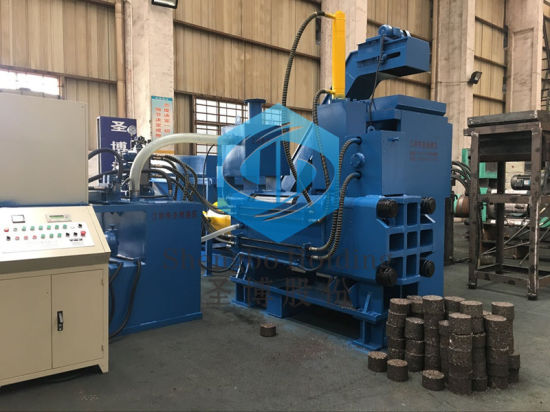 Y83W-5000 Hard Metal Steel Chips Briquette Making Machine