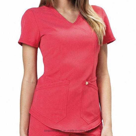 Customized Fashion Hospital Medical Nursing Body Scrubs Uniforms