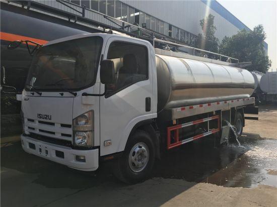 China Isuzu 700p 4X2 Stainless Steel Aluminum Water Tank