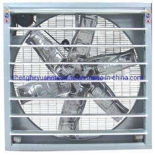 "36"" 50"" Exhaust Fan Axial Fan for Industrial Greenhouse Poultry Swine Farm with Galvanized Frame"