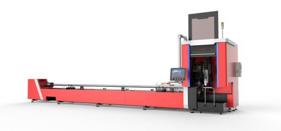 4000W Fiber Laser Cutting Machine for Oil Pipe Cutting Metal Tube Cutting