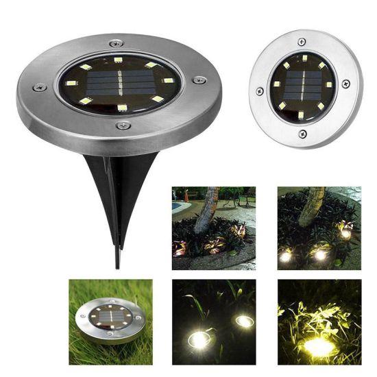 8LED Garden Solar Powered Solar Deck Lights