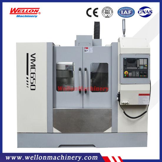 CNC Vertical Machining Center Vmc650 3 Axis Linear Guideway Milling Machine