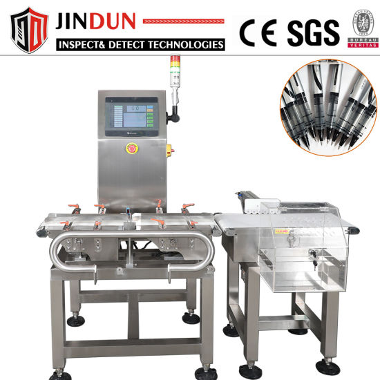 High Preicision Industrial Conveyor Auto Weighing Scale Weight Checker Checkweigher