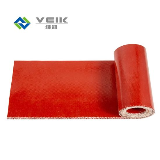 Fireproof Silicone Rubber Coating Glass Fabric Fireproof Silicone Rubber Fiberglass Fabric Survival pictures & photos