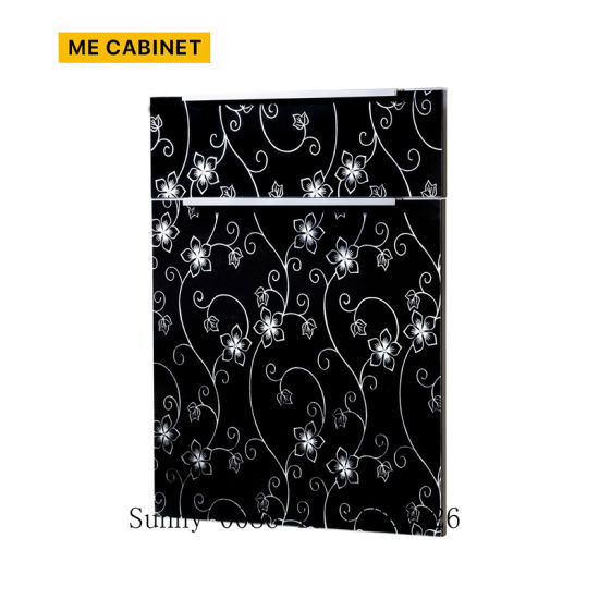 Me Cabinet China Kitchen Furniture Parts 18mm RTF Thermofoil PVC Vacuum MDF Kitchen Cabinet Door/Cupboard Door - China PVC Cabinet Door, MDF Cupboard Door
