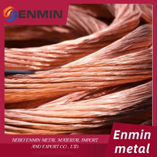 China Factory Hot Sell 99.9%Copper Wire Scrap /Millberry Copper Scrap 99.99%