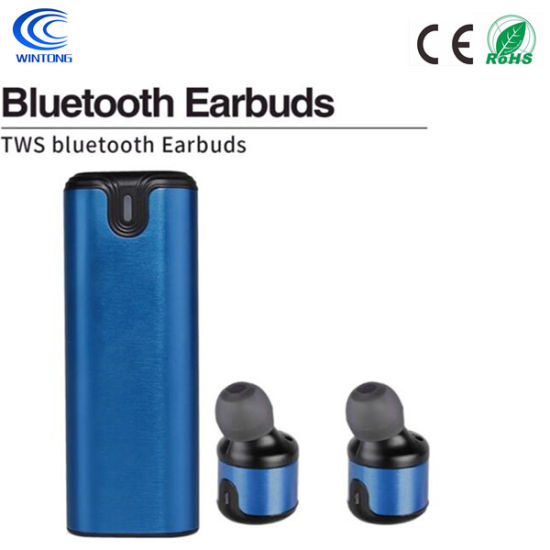 Five Colors Metal Wireless Sports Bluetooth Headset for Huawei