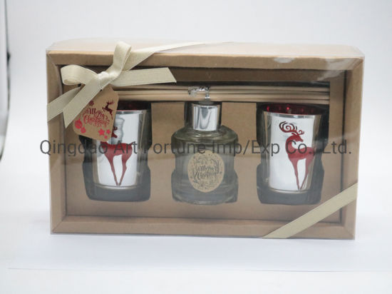 Promotion Gift Set Candles for Christmas Festival