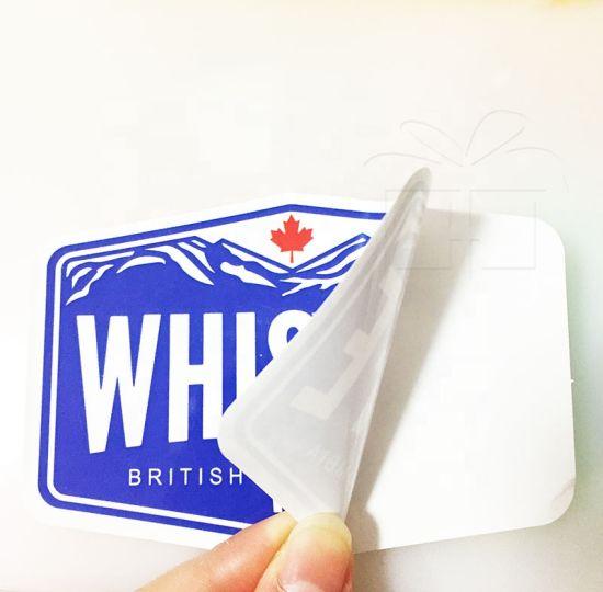 Brand Promotion Waterproof PVC Vinyl Die Cut Custom Logo Sticker