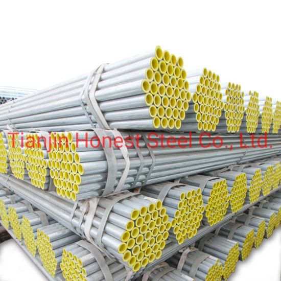 Prime Quality ASTM BS Pre Galvanized Pipe Price Gi Hot DIP Galvanized Steel Pipe
