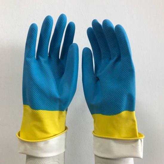 Kitchen Washing Brush Cleaning Scrubber Dish Rubber Silicone Dishwashing Glove