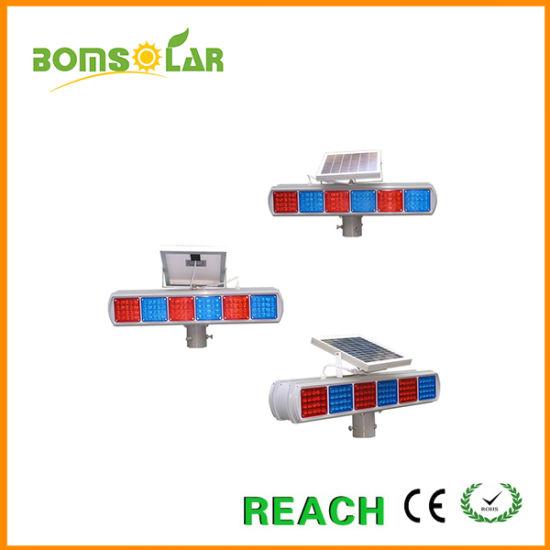 Led Sets Two Side Solar Flash Explosion