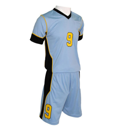 Football Team Wear Football Uniform Soccer Jersey with Sublimation T Shirt