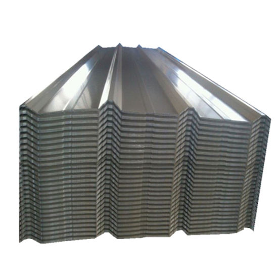Z120 Long Span Galvanized Steel Corrugated Roofing Sheet