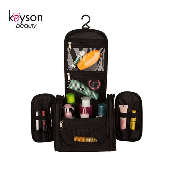 Large Capacity Hanging Travel Nylon Toiletry Kit Cosmetic Bag