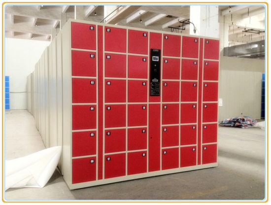 36 Openings Electronic Steel Barcode Locker