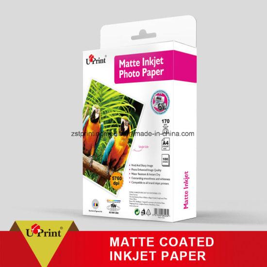 Matte Inkjet Photo Paper High Quality Inkjet Printing Paper A4 Photo Paper Matte Coated Paper
