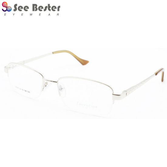 35e0b78698b China Classic Style Men Glasses Stainless Metal Optical Frame ...