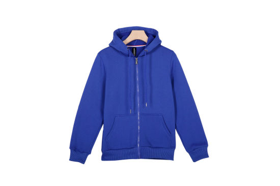 Customized Cotton Pullover Hoodies with Embroidery Logo Company Work Hoodie