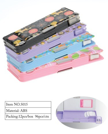 Multifunctional Pencil Box with Sharpener (5015) pictures & photos