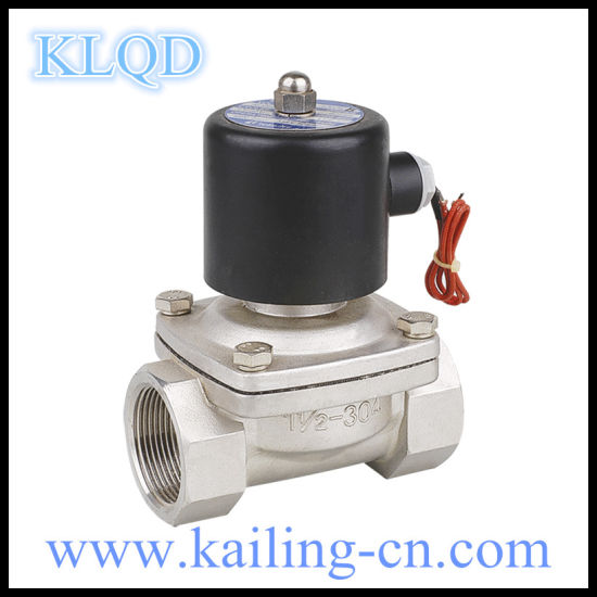 304 Stainless Steel Solenoid Valve Viton Sealing pictures & photos