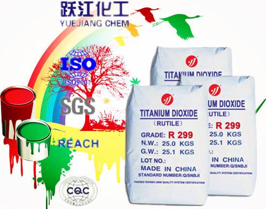 R299 Titanium Dioxide Rutile