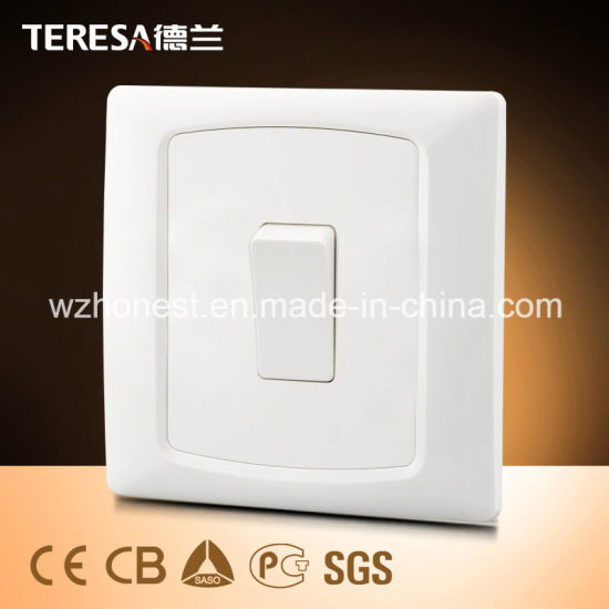 China 1 Gang 13a Socket Wall Switch Socket With Led Indicator Light