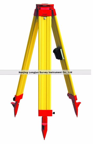Wooden Tripod For Leica Total Station Gst20