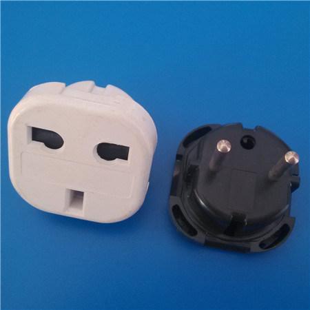 European 2 Round Pin Plug (RJ-0031)