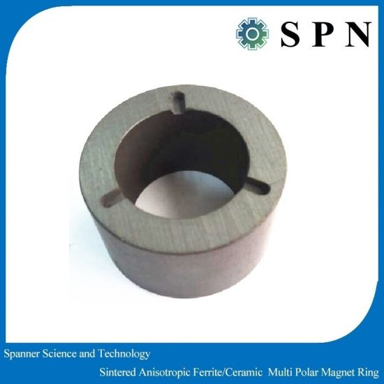 Ceramic Ferrite Magnet Rings for DC Motors pictures & photos