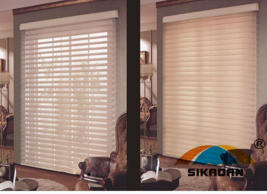 New Design SKD Shangri-La Shutter Sunshade Customized Roller Blinds pictures & photos