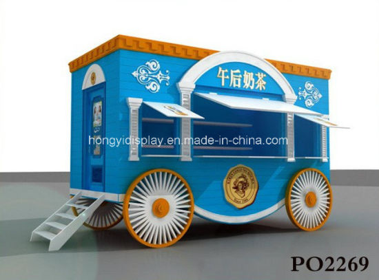 China Unique Design Outdoor Kiosk/ Outdoor Fast Food Kiosk/ Modern