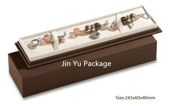 Chocolate Color Luxury Paper Jewelry Gift Packing Box pictures & photos
