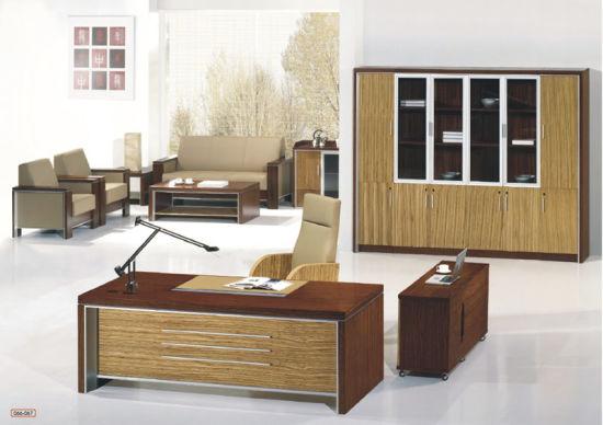 China Oak Veneer Color Office Manager
