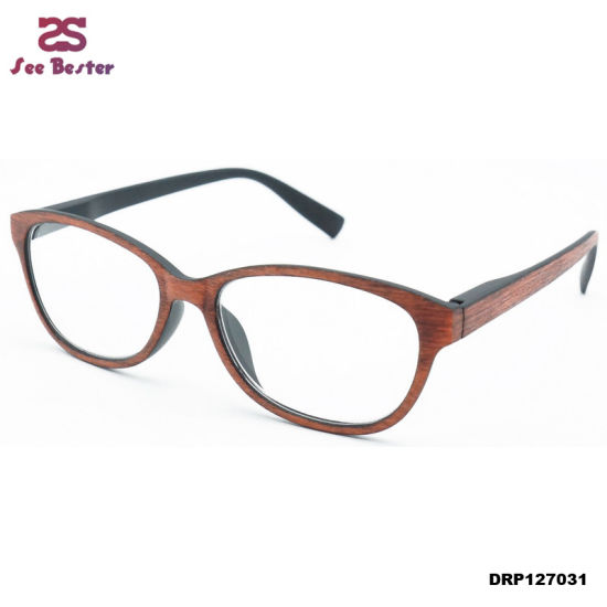 44cc6266305 China Reading Glasses Glasses Women Wooden Resin Reading Glasses ...