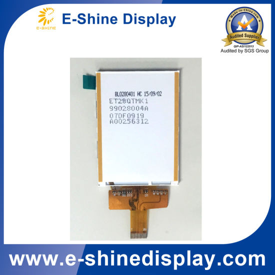 2.8 Inch Graphic Custom Serial TFT micro LCD Module supplier with Touchscreen pictures & photos