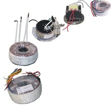 Low Hum Noise Toroidal Power Transformer