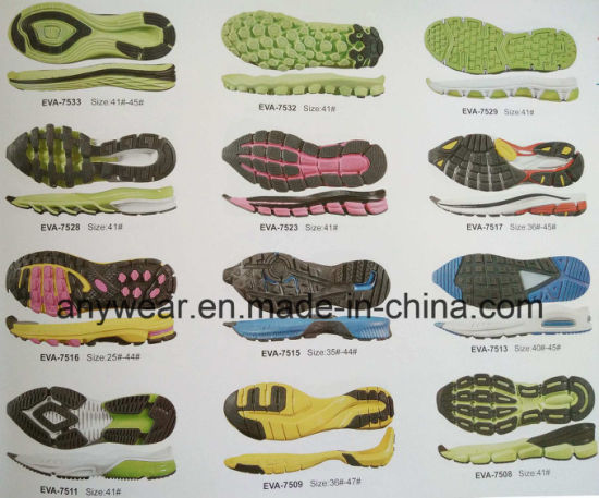 Comfort Casual Shoes Soles Phylon Md EVA Outsoles (EVA F 5-10) pictures & photos